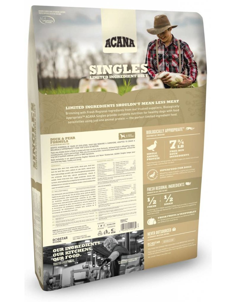 Acana ACANA Singles Duck & Pear Dry Dog Food
