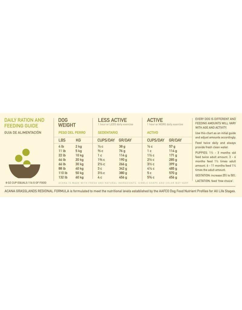Acana ACANA Grasslands Grain-Free Dry Dog Food