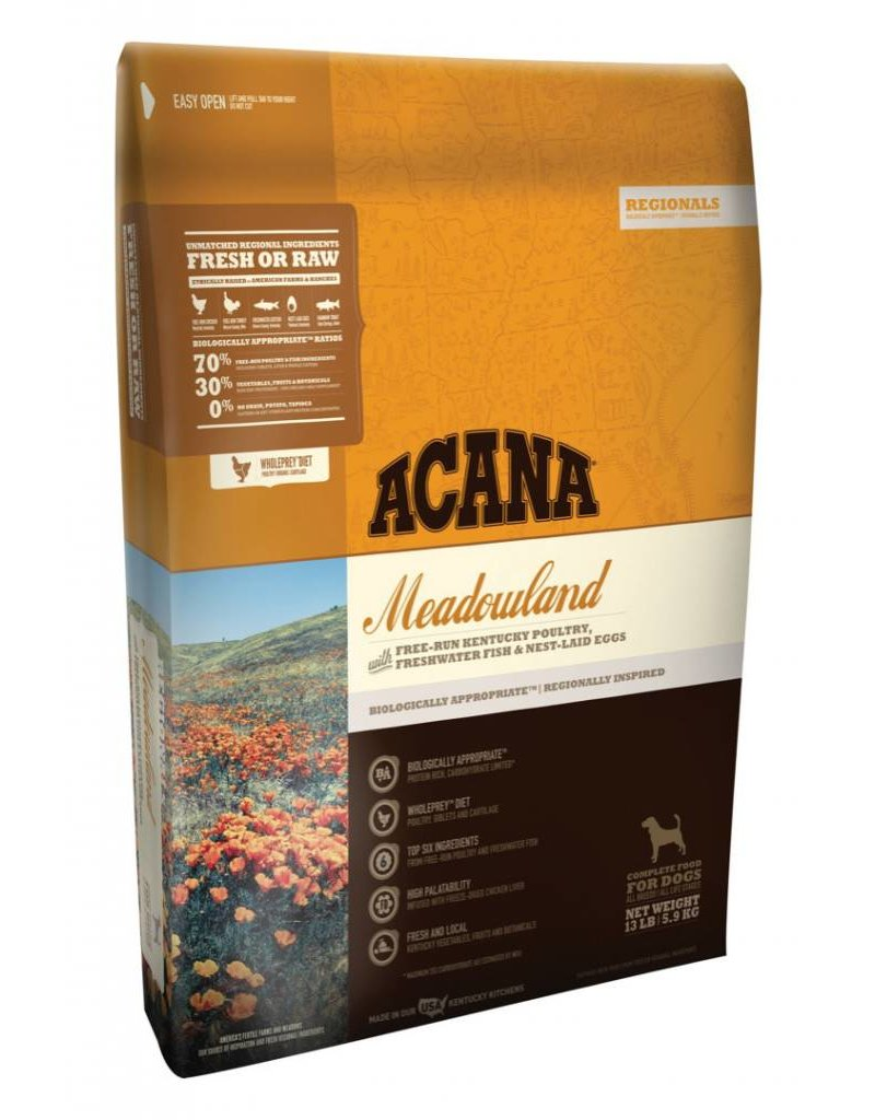 Acana ACANA Meadowlands Grain-Free Dry Dog Food