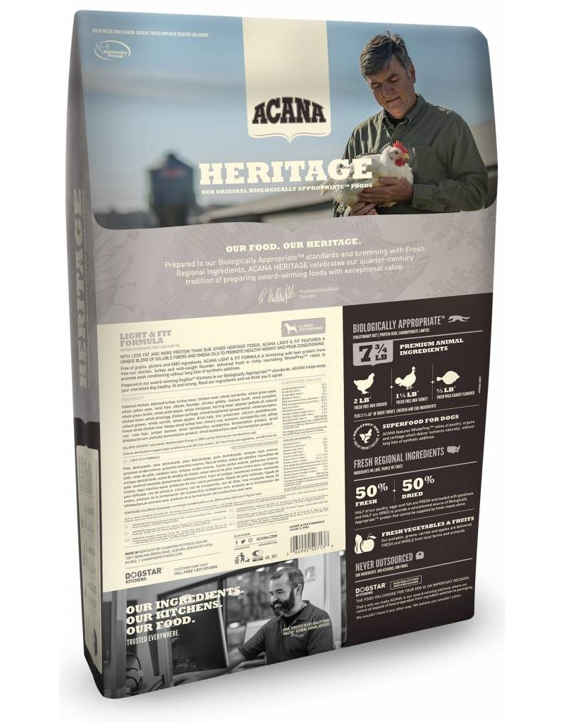 Acana ACANA Heritage Light & Fit Grain-Free Dry Dog Food