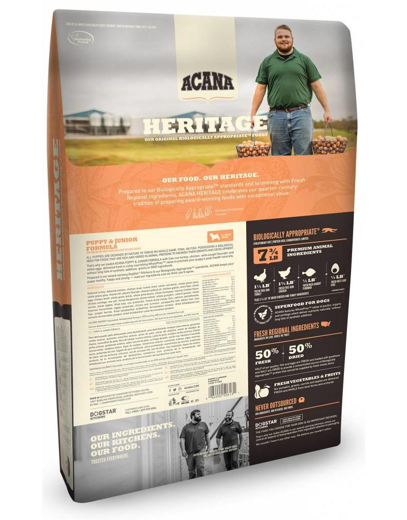 Acana ACANA Heritage Puppy & Jr Grain-Free Dry Dog Food