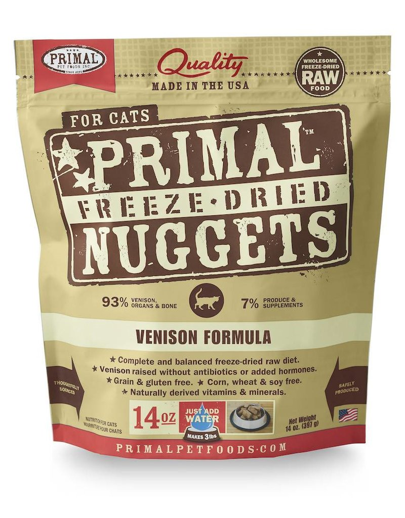 Primal Pet Foods PRIMAL Venison Freezedried Cat Food