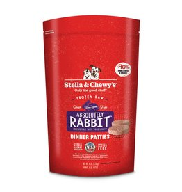 Stella & Chewy's STELLA & CHEWY'S Absolutely Rabbit Dinner Frozen Raw Dog Food
