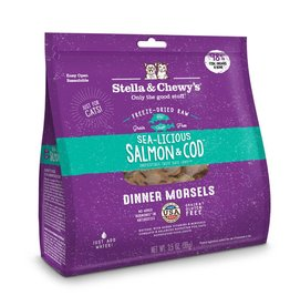 Stella & Chewy's STELLA & CHEWY'S Sea-Licious Salmon & Cod Freezedried Cat Food