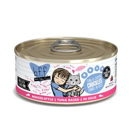 Weruva BFF Tuna & Chicken Chuckles Canned Cat Food Case