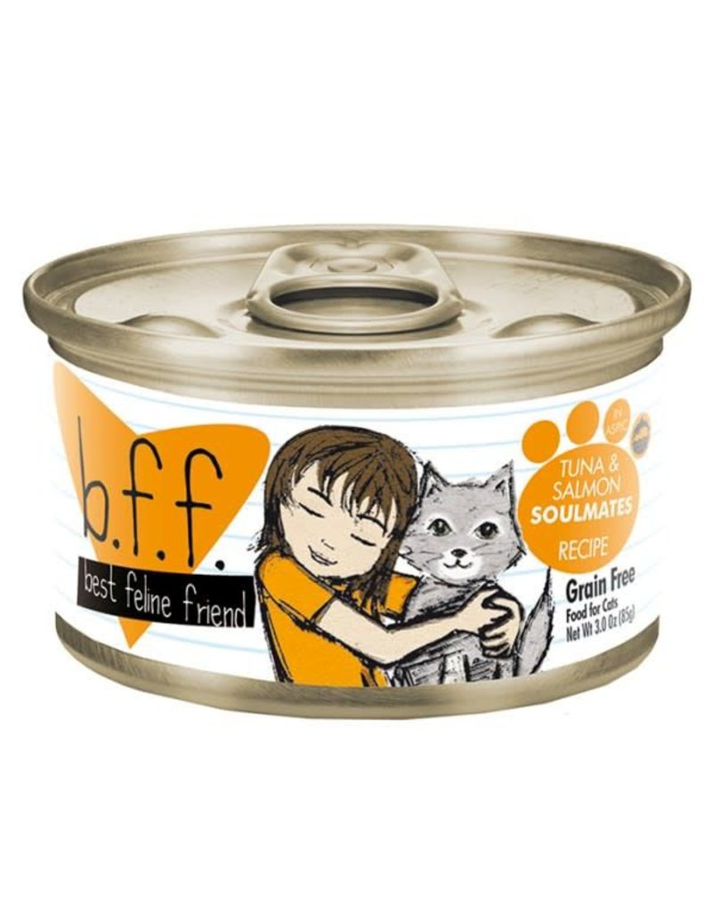 Weruva BFF BFF Tuna & Salmon Soulmate Canned Cat Food Case