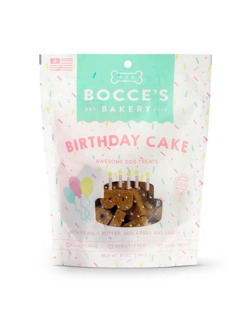 Bocces Bakery BOCCE Dog Treat 5oz Birthday Cake