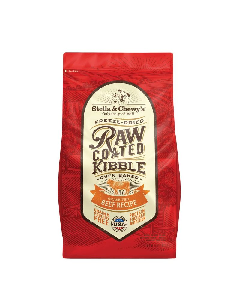 Stella & Chewys STELLA & CHEWY'S Raw Coated Beef Dry Dog food