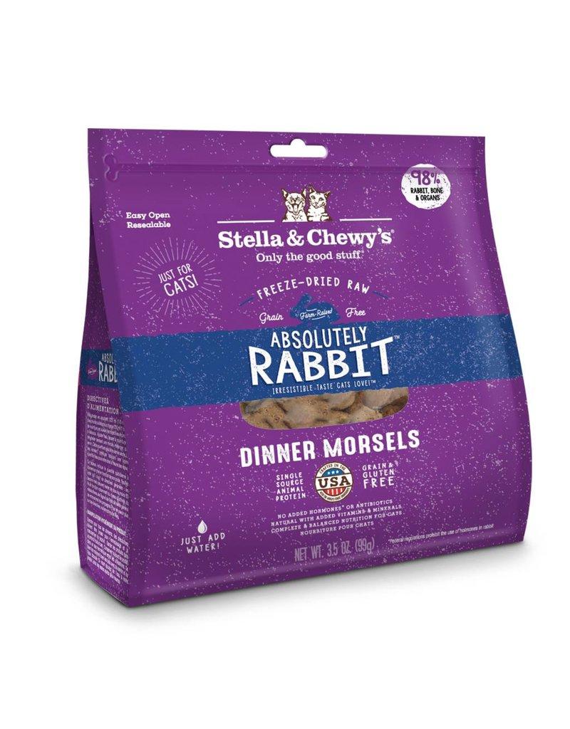 Stella & Chewys STELLA & CHEWY'S Rabbit Freezedried Cat Food