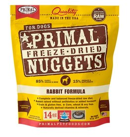 Primal Pet Foods PRIMAL Rabbit  Freezedried Dog Food
