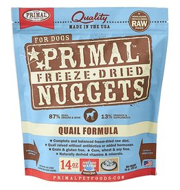 Primal Pet Foods PRIMAL Quail Freezedried Dog Food