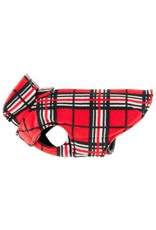 RC PET RC Pet Whistler Winter Wear Fleece 2.0 Red Tartan