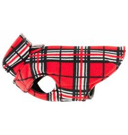 RC PET RC Pet Whistler Winter Wear Fleece 2.0 Red Tartan