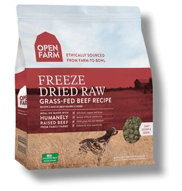 Open Farm OPEN FARM Freezedried Dog Food Beef 13.5 OZ