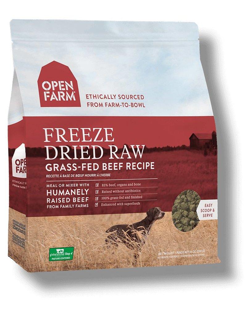 Open Farm OPEN FARM Freezedried Dog Food Beef 13.5 OZ