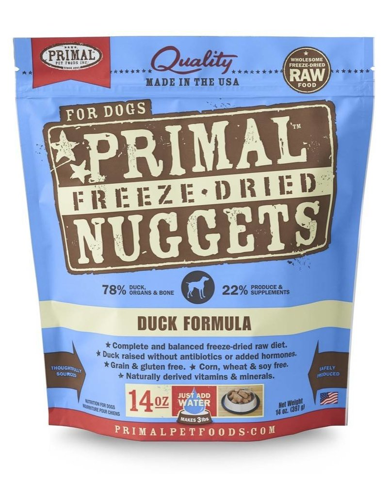 Primal Pet Foods PRIMAL Duck Freezedried Dog Food