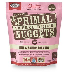 Primal Pet Foods PRIMAL Beef & Salmon Freezedried Cat Food