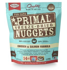 Primal Pet Foods PRIMAL Chicken & Salmon Freezedried Cat Food