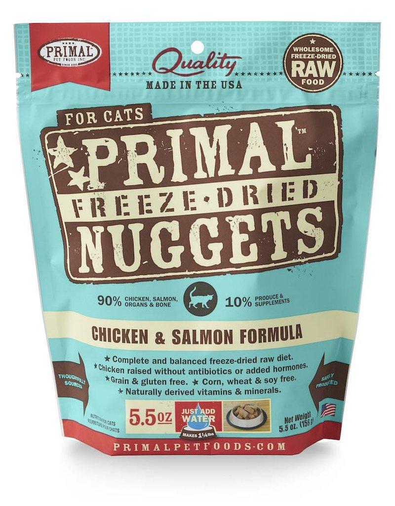 Primal Pet Foods PRIMAL Chicken & Salmon Freezedried Cat Food
