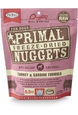 Primal Pet Foods PRIMAL Turkey & Sardine Freezedried Dog Food