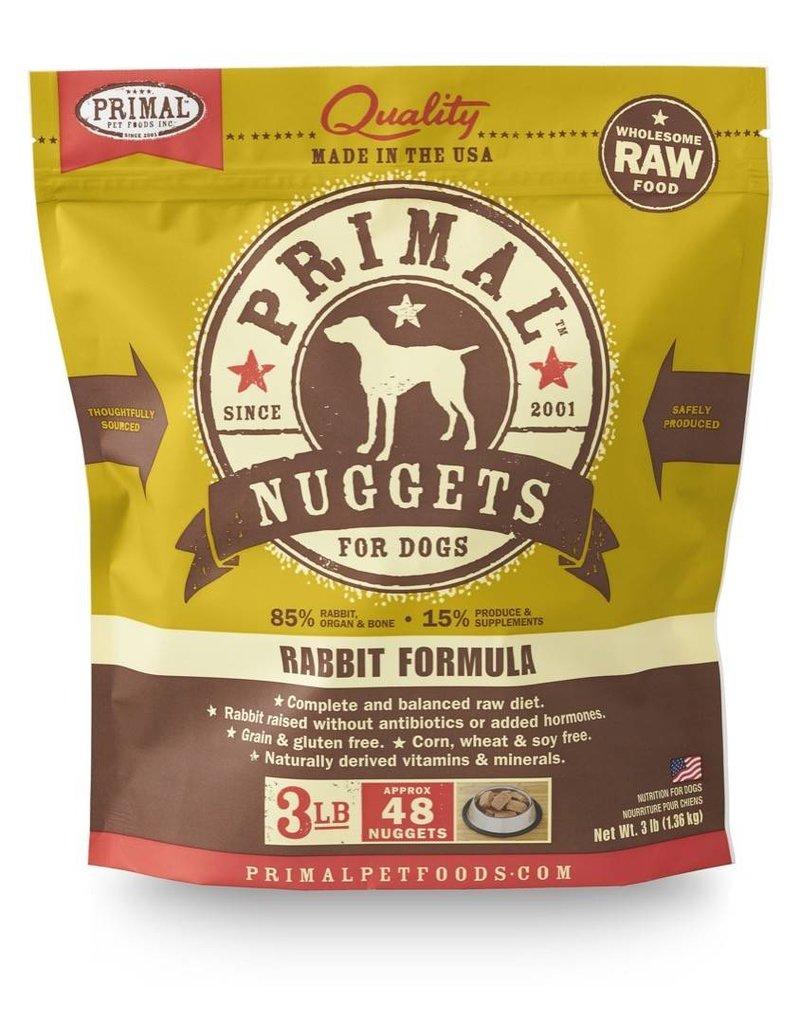 Primal Pet Foods PRIMAL Frozen Raw Canine Rabbit Formula