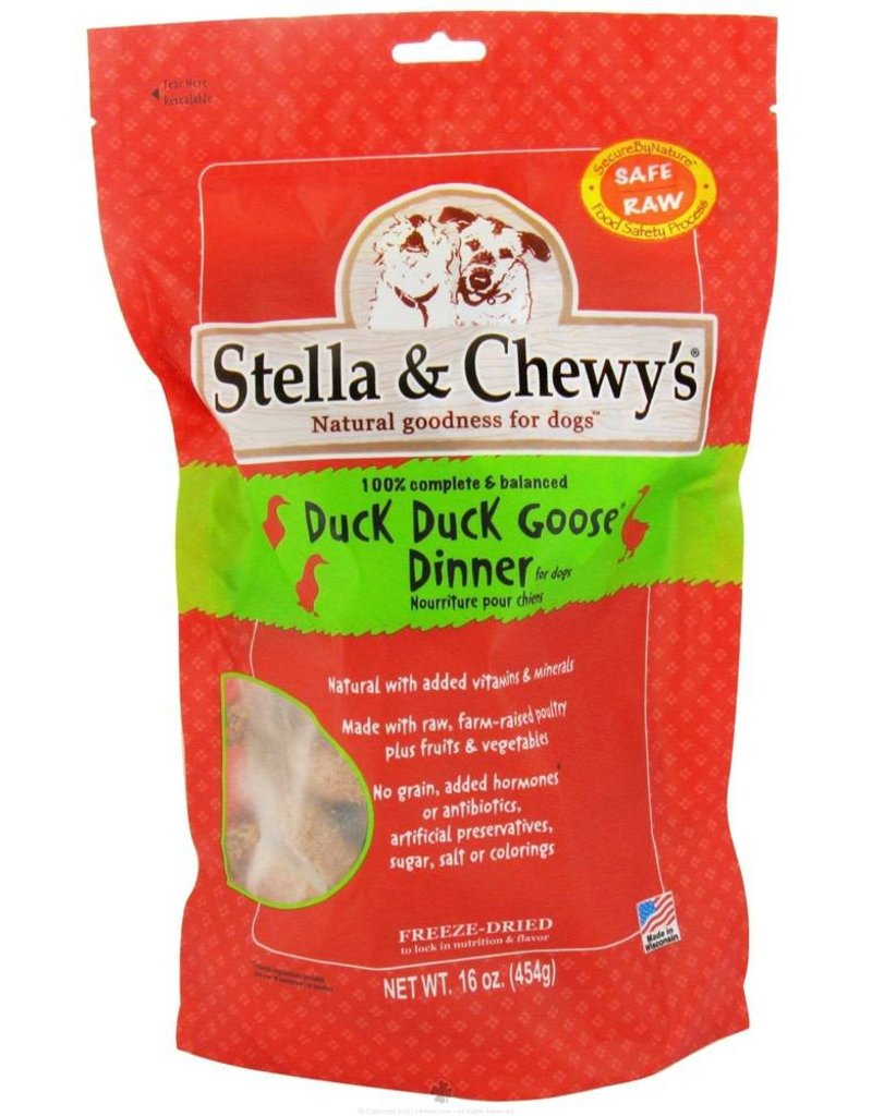 Stella & Chewys STELLA & CHEWY'S Duck, Duck Goose Dinner Freezedried Dog Food Patties
