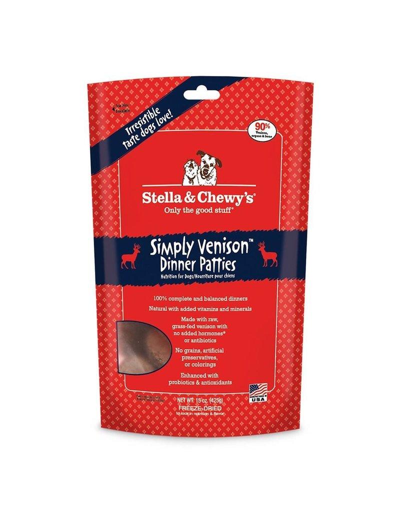 Stella & Chewys STELLA & CHEWY'S Simply Venison Dinner Freezedried Dog Food Patties