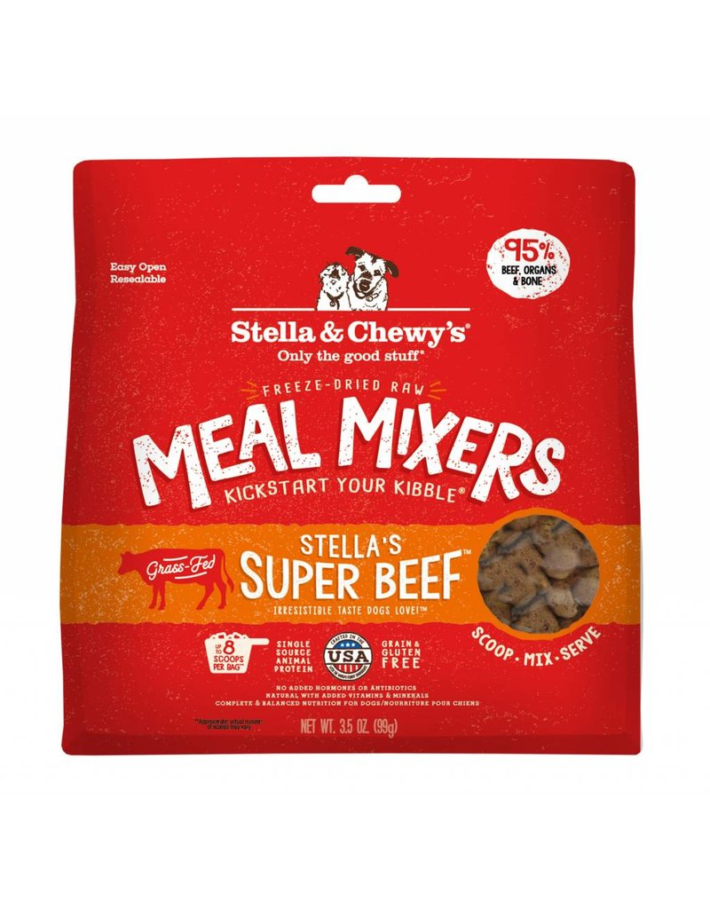 Stella & Chewy's STELLA & CHEWY'S Super Beef Freezedried Meal Mixers for Dogs