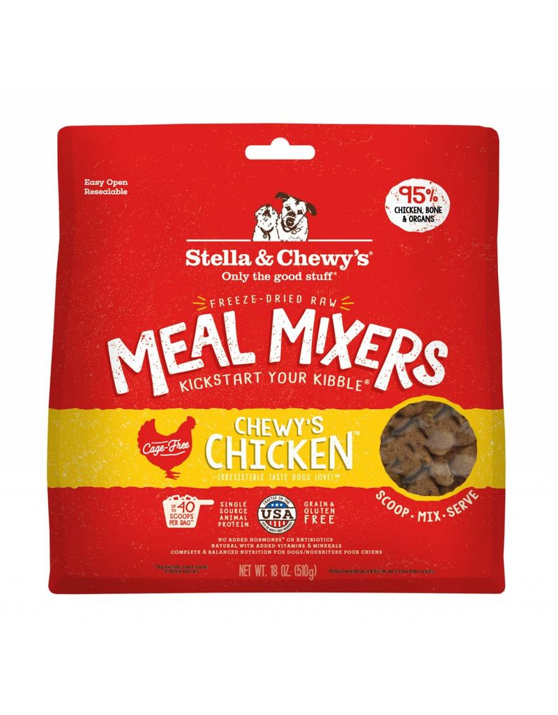 Stella & Chewy's STELLA & CHEWY'S Chicken Freezedried Meal Mixers for Dogs