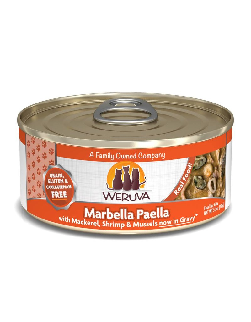Weruva WERUVA Marbella Paella Grain-Free Canned Cat Food Case