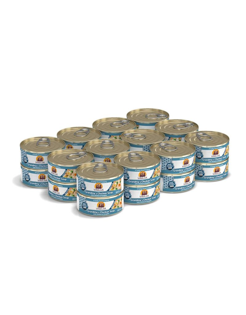 Weruva WERUVA Grandma's Chicken Soup Grain-Free Canned Cat Food Case