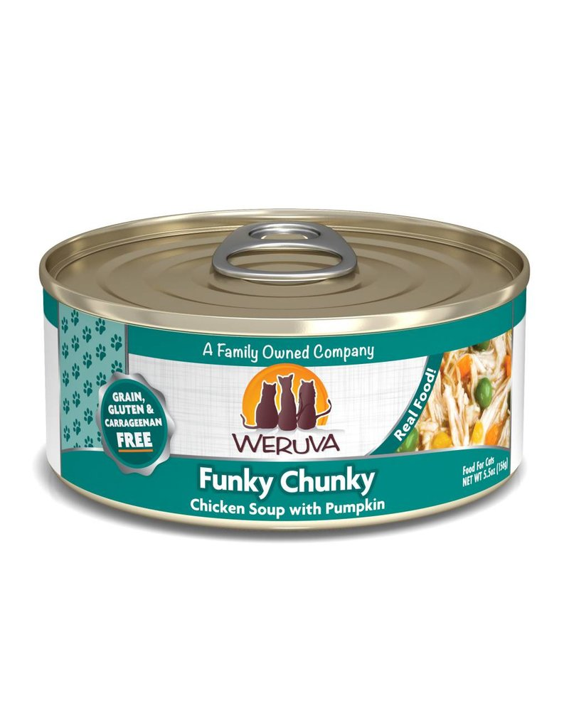 Weruva WERUVA Funky Chunky Grain-Free Canned Cat Food Case