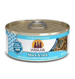 Weruva WERUVA Mack & Jack Grain-Free Canned Cat Food Case