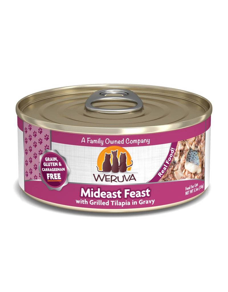 Weruva WERUVA Mideast Feast Grain-Free Canned Cat Food Case