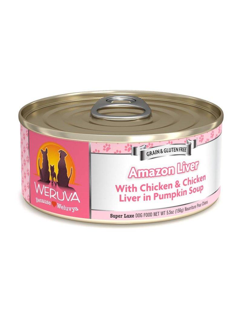 Weruva WERUVA Amazon Liver Grain-Free Canned Dog Food Case