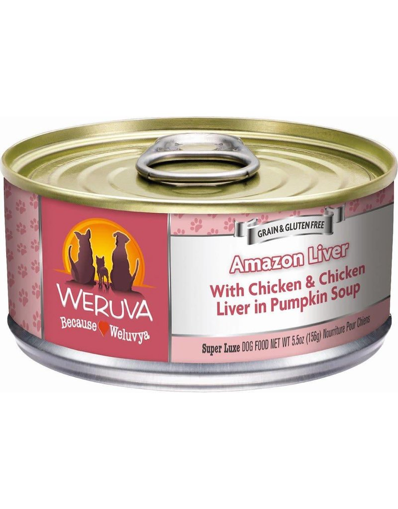 Weruva WERUVA Amazon Liver Grain-Free Canned Dog Food Case