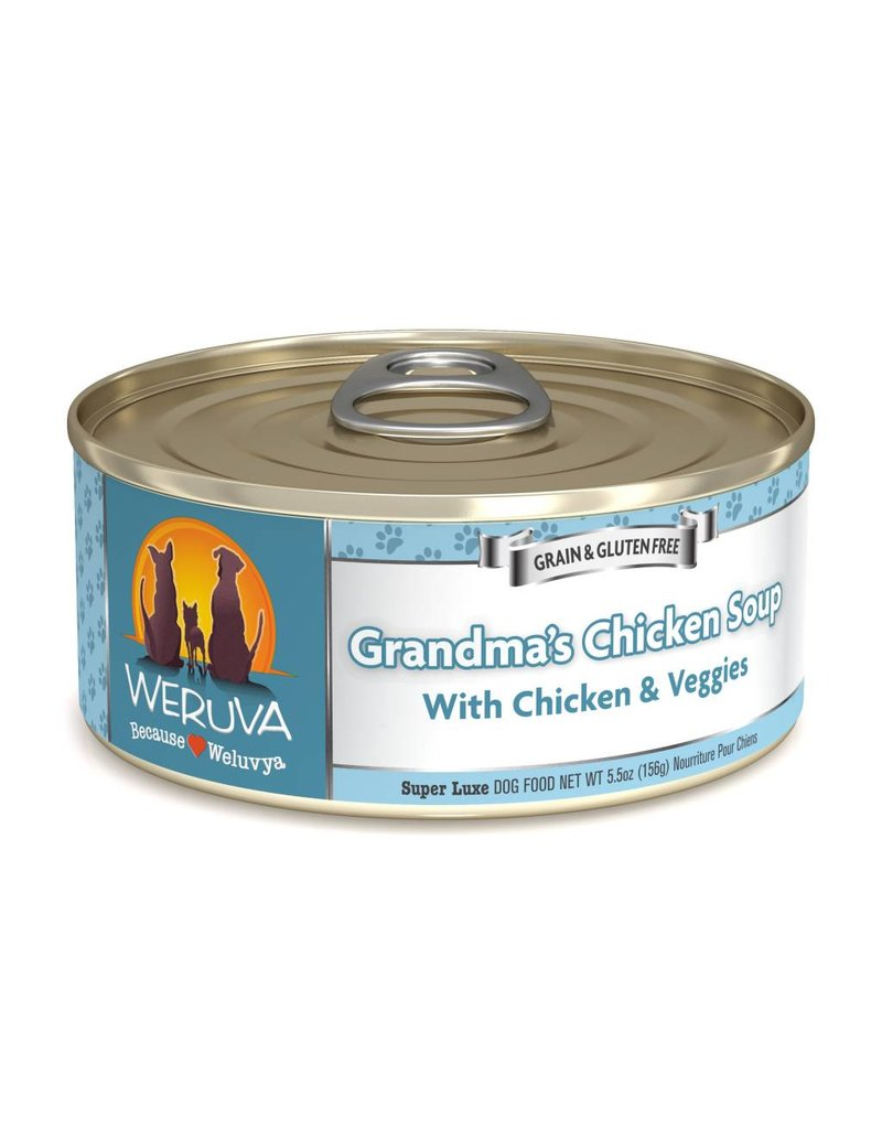 Weruva WERUVA Grandma's Chicken Soup Grain-Free Canned Dog Food Case
