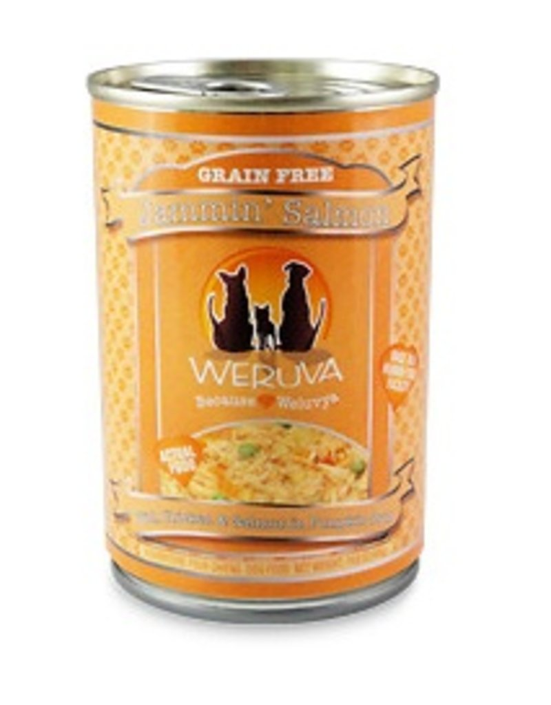 Weruva WERUVA Jammin' Salmon Grain-Free Canned Dog Food Case