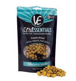 Vital Essentials VITAL ESSENTIALS Freezedried Alaskan Salmon Rings Dog Treat 2 oz.