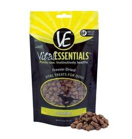 Vital Essentials VITAL ESSENTIALS Freezedried Duck Nibs Dog Treat 2 oz.