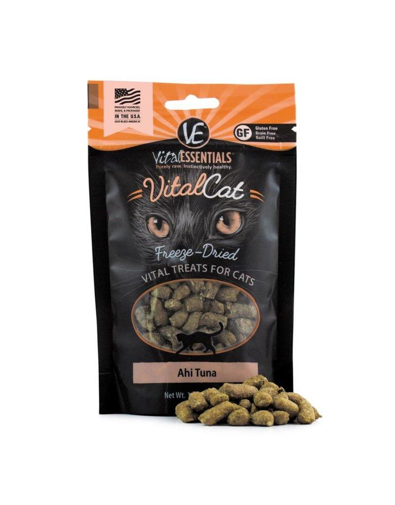 Vital Essentials VITAL ESSENTIALS Freezedried Ahi Tuna Cat Treat 1.1 oz.