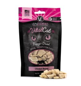 Vital Essentials VITAL ESSENTIALS Freezedried Chicken Cat Treat 1 oz.