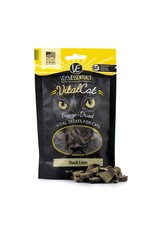 Vital Essentials VITAL ESSENTIALS Freezedried Duck Liver Cat Treat .9 oz.
