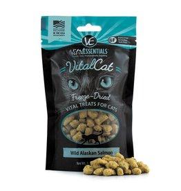 Vital Essentials VITAL ESSENTIALS Freezedried Wild Salmon Cat Treat 1.1 oz.