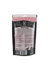 Vital Essentials !VITAL ESSENTIALS Freezedried Rabbit Ears Dog Treat 4 oz.