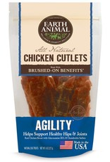 Earth Animal EARTH ANIMAL Brushed On Benefits Chicken Cutlet AGILITY Dog Treat 8oz