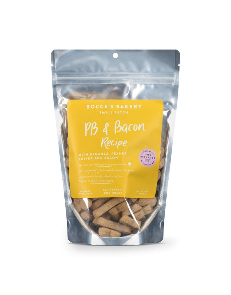 Bocce BOCCE Dog Treat 8oz PB Bacon