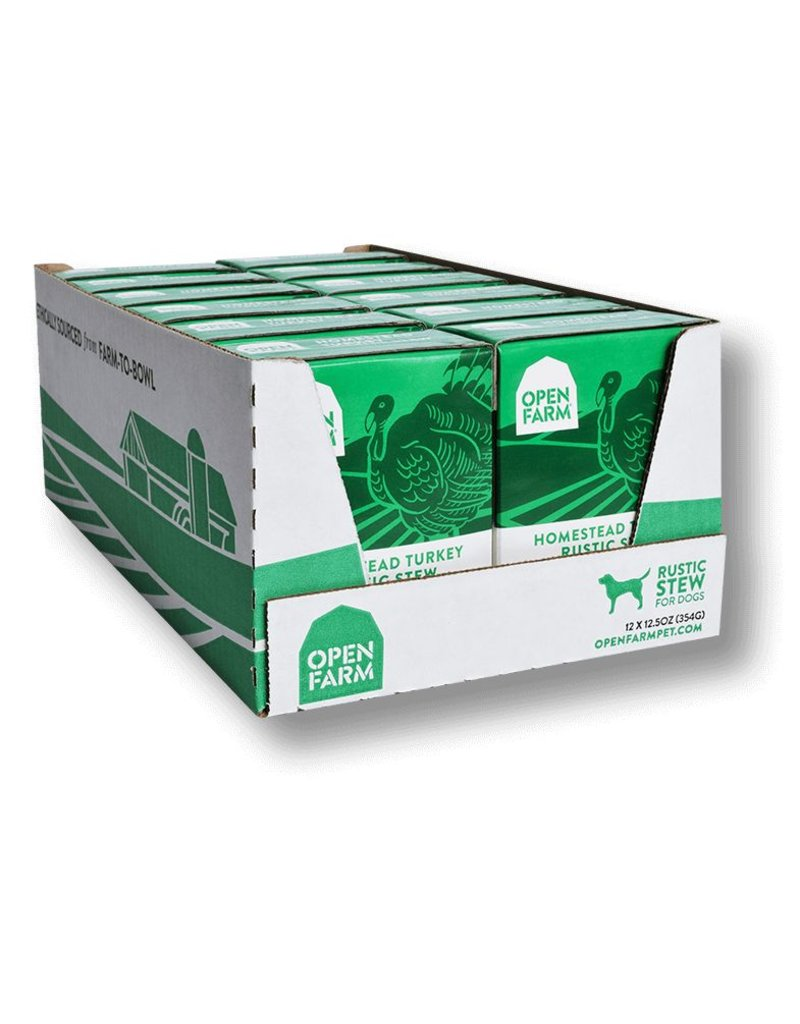 Open Farm !!OPEN FARM Dog Stew Turkey 12.5oz CASE/12