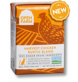 Open Farm OPEN FARM Harvest Chicken Rustic Blend for Cats 5.5oz CASE/12