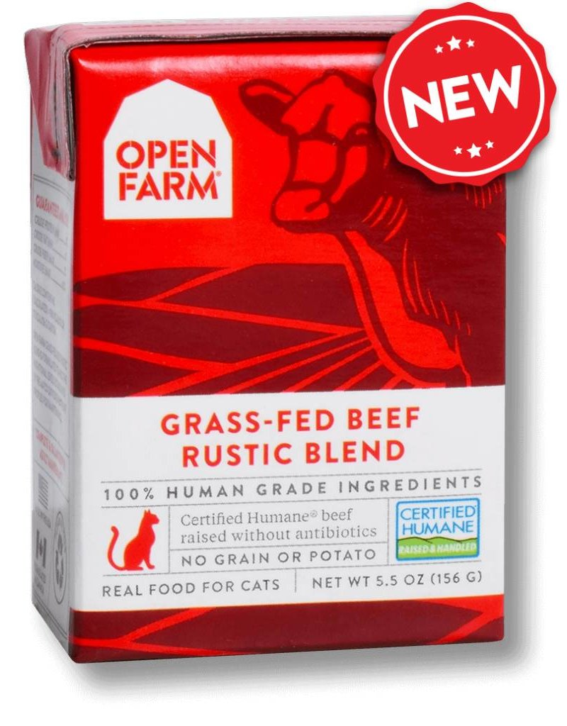 Open Farm OPEN FARM Cat Stew Beef 5.5oz CASE/12